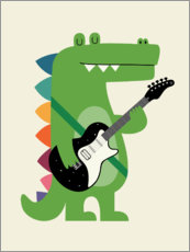 Wall Stickers  Croco Rock - Andy Westface