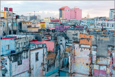 Gallery print  Authentic view of a street of Old Havana