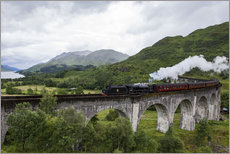 Wall sticker  Hogwarts Express