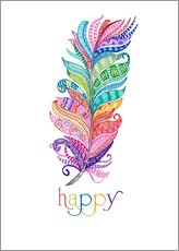 Wall Stickers  Happy - MiaMia