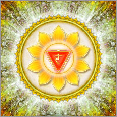 Wall sticker Solar Plexus Chakra Series VI