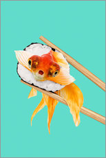 Wall Sticker  SUSHI GOLDFISH - Jonas Loose