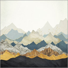 Wall sticker Distant Peaks