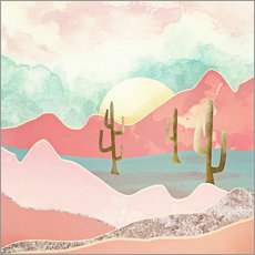 Wall sticker Desert Mountains