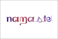 Wall Stickers  namaste - Ohkimiko