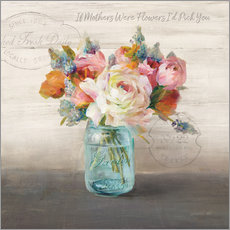Gallery print  French Cottage Bouquet II - Danhui Nai