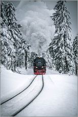 Gallery print  Brocken steam locomotive - Muharrem Ünal