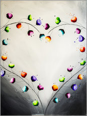Wall sticker Blooming love