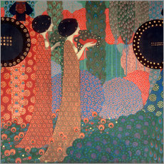 Gallery Print  Princesses and warriors (detail) - Vittorio Zecchin