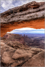 Gallery print  Arch over the Canyon, Utah - Thomas Klinder