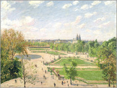 Wall sticker  The Garden of the Tuileries on a Spring Morning - Camille Pissarro