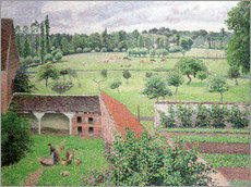Gallery print  Look out my window - Camille Pissarro