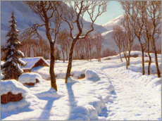 Gallery print  Winter scene in the Alps - Ivan Fedorovich Choultse