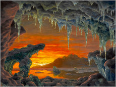 Gallery print  Arctic grotto - Ivan Fedorovich Choultse