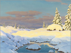 Wall sticker  winter landscape - Ivan Fedorovich Choultse