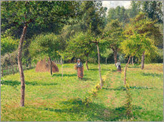 Wall sticker  Orchard in Éragny - Camille Pissarro