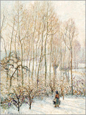 Gallery print  Morning Sunlight on the Snow - Camille Pissarro