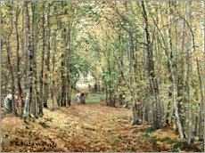 Camille Pissarro - The forest at Marly