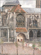 Wall sticker  Church of Saint Jacques in Dieppe - Camille Pissarro