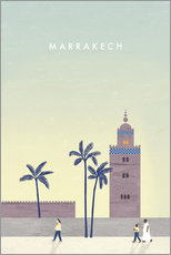 Wall sticker  Marrakesh illustration - Katinka Reinke
