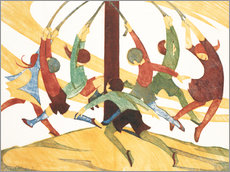 Wall sticker  The giant stride - Ethel Spowers