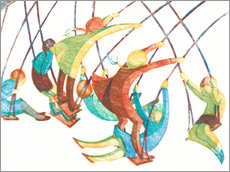 Gallery print  Swings - Ethel Spowers