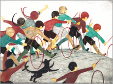 Wall sticker  Children's hoops - Ethel Spowers