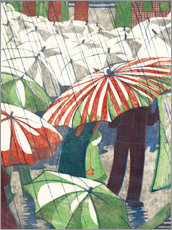 Wall Sticker  Wet afternoon - Ethel Spowers