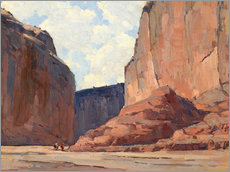 Wall Stickers  Canyon de Chelly - Edgar Alwin Payne