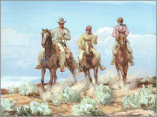 Wall sticker Riders of the Painted Desert