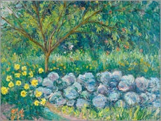 Wall Sticker  Hydrangees, Monet's Garden - Blanche Hoschede-Monet