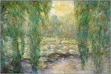 Gallery print  The water lilies - Blanche Hoschede-Monet