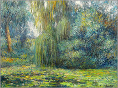 Wall sticker  Water Lilies - Blanche Hoschede-Monet