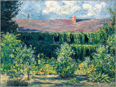 Gallery print  Monet's house - Blanche Hoschede-Monet