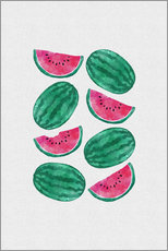 Gallery print  Watermelon Crowd - Orara Studio