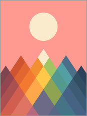 Wall Stickers  Rainbow Peak - Andy Westface