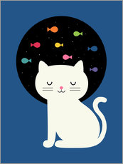 Gallery print  Cats Fantasy - Andy Westface