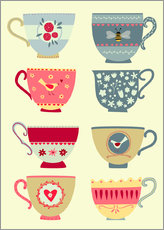 Nic Squirrell - Tea Cups