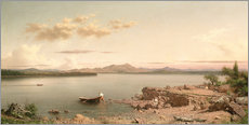 Gallery Print  Lake George - Martin Johnson Heade