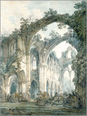 Gallery print  Interior of Tintern Abbey in Monmouthshire - Joseph Mallord William Turner