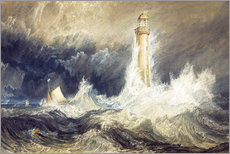 Gallery print  Bell Rock Lighthouse - Joseph Mallord William Turner