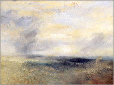 Wall sticker  Margate from the Sea - Joseph Mallord William Turner