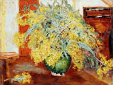 Canvas print  Mimosas - Pierre Bonnard