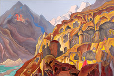Wall sticker  The sacred caves - Nicholas Roerich