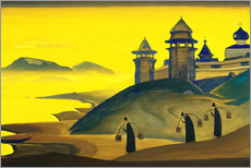 Wall Sticker  And We are Trying - Nicholas Roerich