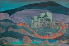 Wall Stickers  The Doomed City - Nicholas Roerich
