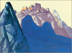 Gallery print  Fort Atop Mountain - Nicholas Roerich