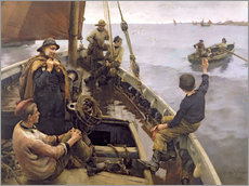 Gallery print  Off to the Fishing Ground - Stanhope Alexander Forbes