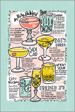 Wall sticker  Have A Drink on Me - Cynthia Frenette