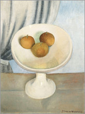 Wall Sticker  Still Life with fruit bowl - Gustave van de Woestyne